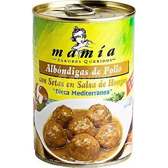 Mamía Albóndigas de pollo con setas Lata 400 g