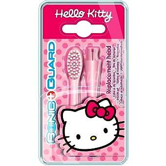 Hello Kitty Recambio de cepillo a pilas sónico blister 2 unidades