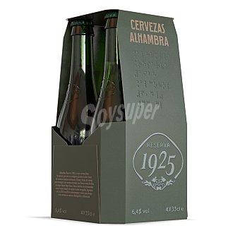Alhambra Cerveza reserva 1925 Pack 4 botellas 33 cl