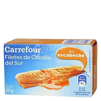 Carrefour Filete de caballa del sur en escabeche 60 g