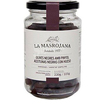 La Masrojana Aceitunas negras Frasco 220 g