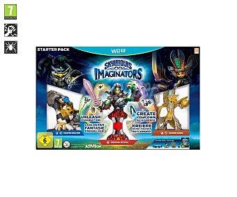 Skylanders Videojuego pack de inicio Imaginators para Nintendo WiiU. Género: aventura , acción. PEGI: +7