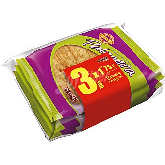 Eidetesa Palmera integral estuche 255 g Pack ahorro 3 unidades