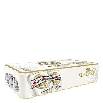San Miguel Cerveza premium especial Pack 28x33 cl