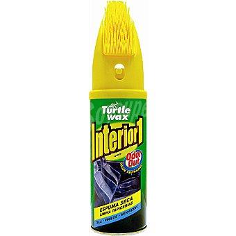 TURTLE Wax Limpia tapicerias con cepillo para automóvil Envase 400 ml