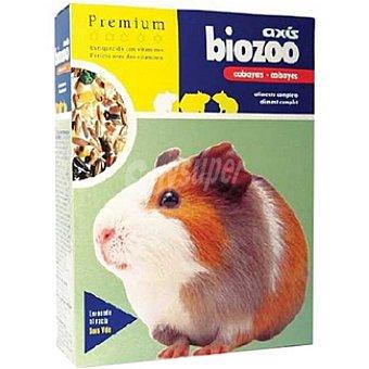 BIOZOO AXIS PREMIUM Alimento completo para cobayas Envase 400 g