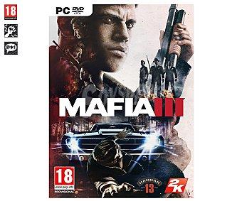 Acción Videojuego Mafia 3 para Pc. Género: acción, shooter, aventura. PEGI: +18