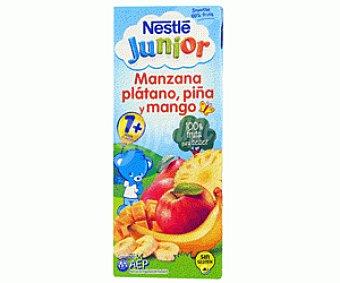 Junior Nestlé Zumo Frutas manzana/plátano/piña/mango Smoothie 200 Mililitros