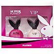 Lote de mujer eau toilette super vaporizador 30 ml + eau toilette vip vaporizador 40 ml  1 lote  Playboy Fragrances
