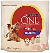 Alimento seco para perros delicados Saco 1,5 kg Purina One