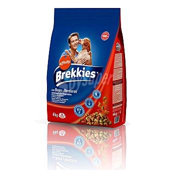 Brekkies Affinity Alimento para perros con buey y verduras bolsa 4 kg