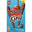 Mikado king de chocolate con leche caja 51 g Lu