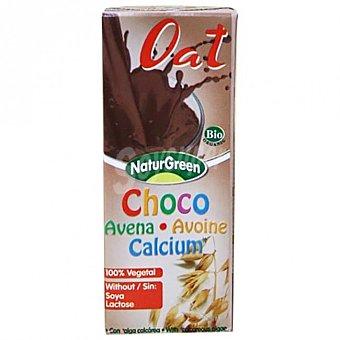 Naturgreen Bebida de avena, chocolate y calcio 200 ml