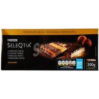 Eroski Seleqtia Turrón Sacher Caja 200 g