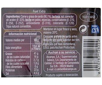 Auchan Fuet Espetec Extra 180 gramos