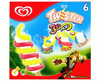 Frigo Twister 3D Max Pack 6x80ml