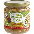 Bio garbanzos guisados con verduras producto ecológico Frasco 345 g Bajamar