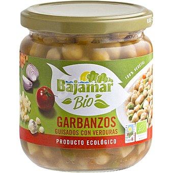 Bajamar Bio garbanzos guisados con verduras producto ecológico Frasco 345 g