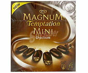 MAGNUM de FRIGO Helado T. Mini Chocolate 6x50ml