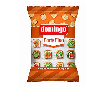 Domingo Tostadas mini, corte fino 280 g