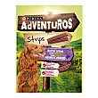 Snacks Strips para perros adultos Envase 90 g Purina Adventuros