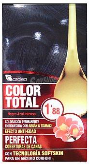 AZALEA Tinte coloración permanente color total Nº1.88 negro azulado (enriquecido con aceite argán y tsubaki) unidad