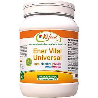 Kifood concentrado natural de Ener Vital Universal para hombre y mujer sin azúcar añadido  bote 1,2 kg