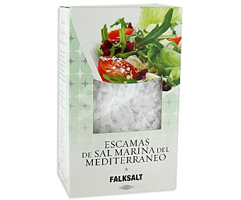 FALKSALT Escamas de sal natural Estuche de 125 Gramos
