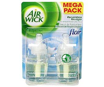 Air Wick Recambio eléctrico con esencia flor, frescor de ropa limpia 1 unidad
