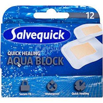 Salvequick Apósito cura rapid Caja 12 unid