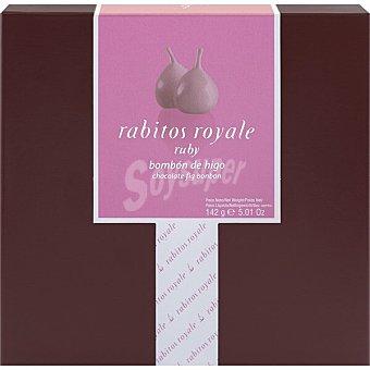 la Higuera Rabitos Royale bombón de higo Ruby 8 unidades estuche 142 G Estuche 142 g