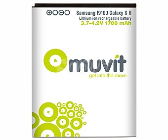 MUVIT Galaxy S2 batería