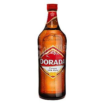 Dorada Cerveza rubia nacional Botella 75 cl