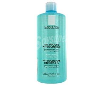 La Roche-Posay Gel de baño fisiológico libre de jabón para pieles sensibles, 750 Mililitros