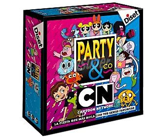 DISET Party & Co. Cartoon Networks Juego de mesa familiar multiprueba Party & Co. Cartoon Networks, de 2 a 16 jugadores, DISET.