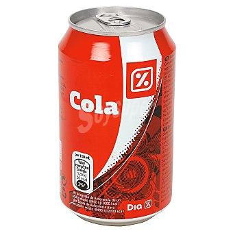 DIA Refresco de cola lata 33 cl Lata 33 cl