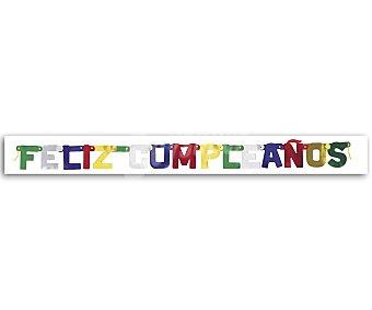Party Cartel articulado Feliz cumpleaños party