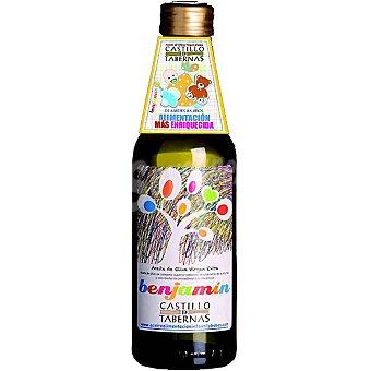 Castillo de Tabernas Aceite de oliva virgen extra benjamín de 6 meses a 5 años Botella 250 ml