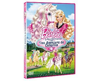 ANIMACIÓN Película en Dvd Barbie y sus Hermanas en una Aventura de Caballos. Género: Infantil, Animación. TP
