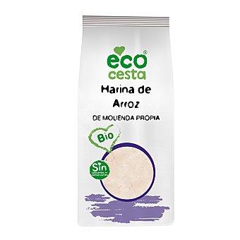 ECOCESTA Harina de arroz de cultivo ecológico 500 gamos