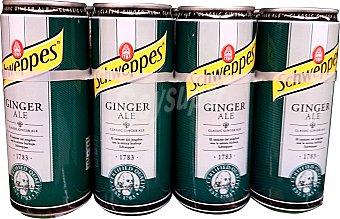 Schweppes Ginger ale 8 latas de 33 cl