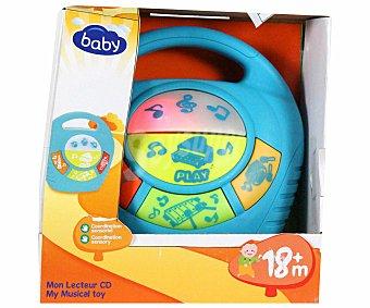 BABY Reproductor Musical con diferentes Melodías 1 Unidad