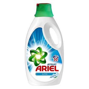 Ariel Detergente líquido Frescor Alpes Garrafa de 50 dosis