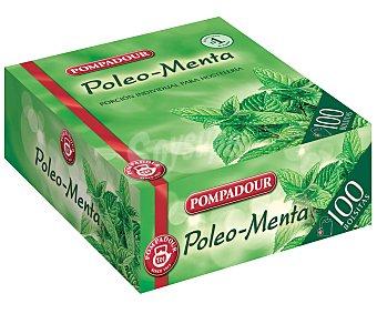 Pompadour Poleo menta Caja 100 sobres