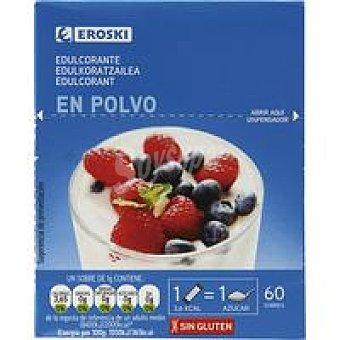 Eroski Edulcorante Caja 60 sobres