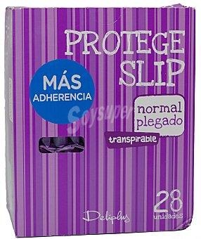 Deliplus Protegeslip normal plegado Paquete 28 u