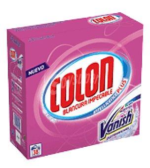 Colón Detergente Polvo con extractos de Vanish 38 dosis