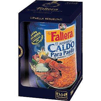 La Fallera Caldo de marisco para paellas Frasco 600 ml