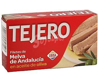 TEJERO filetes de melva de Andalucía en aceite de oliva  lata 78 g neto escurrido