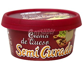 Tgt Crema de queso semicurado Tarrina de 125 gramos